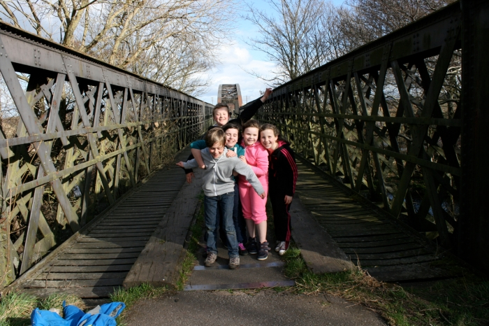 Mosstodloch PS at the Spey Viaduct